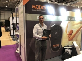 MODIO Guestroom Acoustic Control: Winner of the Guest Experience of the Future at the Hospitality Design Show